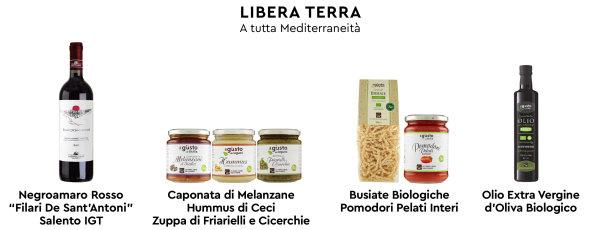 Libera Terra Mediterraneo food etici