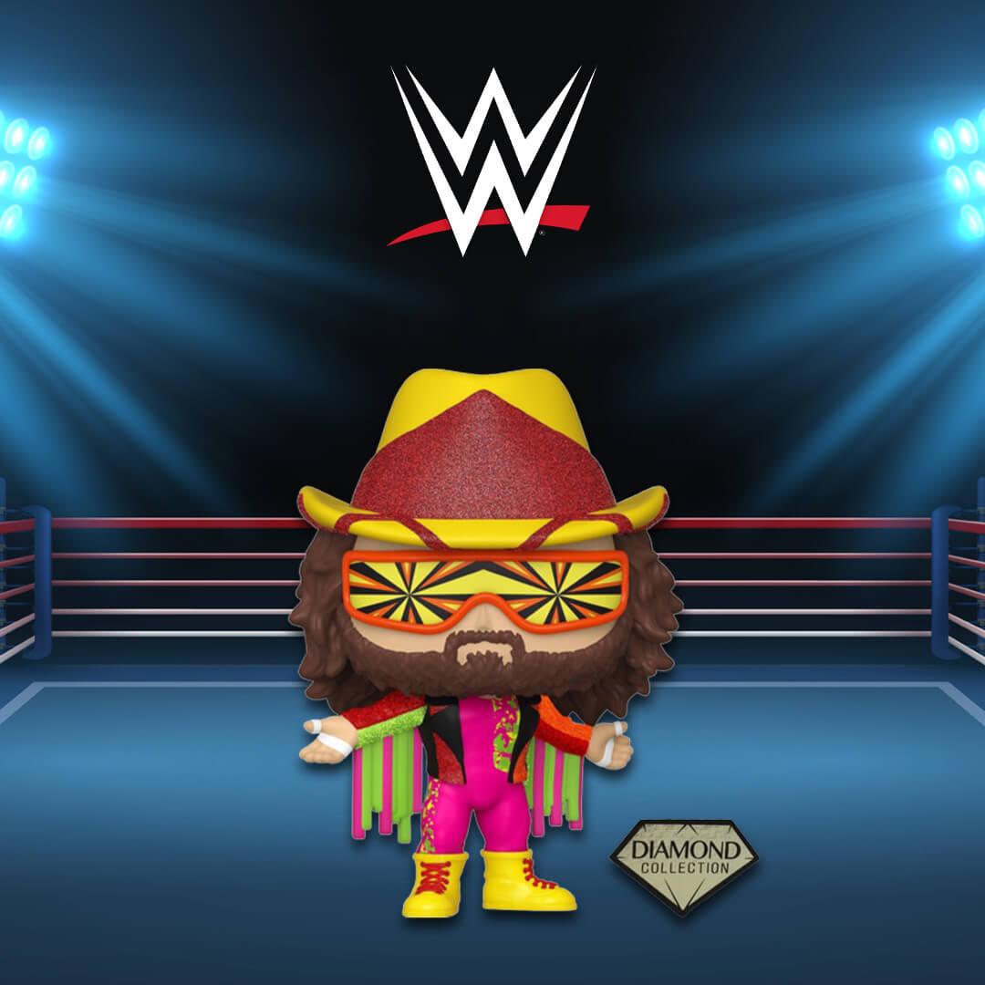 Nuovo Pop! EXC WWE NWSS Macho Man Randy Savage DGLT!