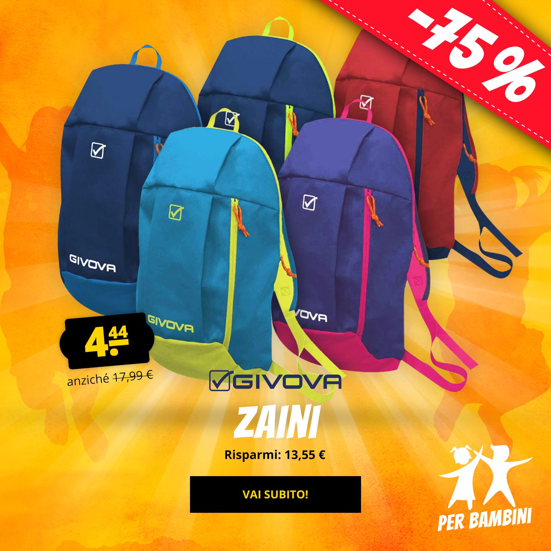Givova Zaini solo 4,44 €