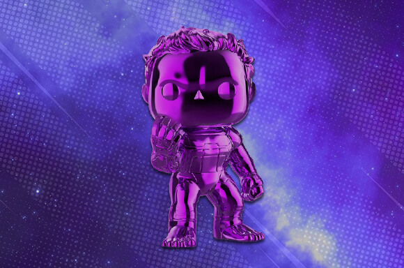 Brand New EXC: Purple Chrome Hulk!