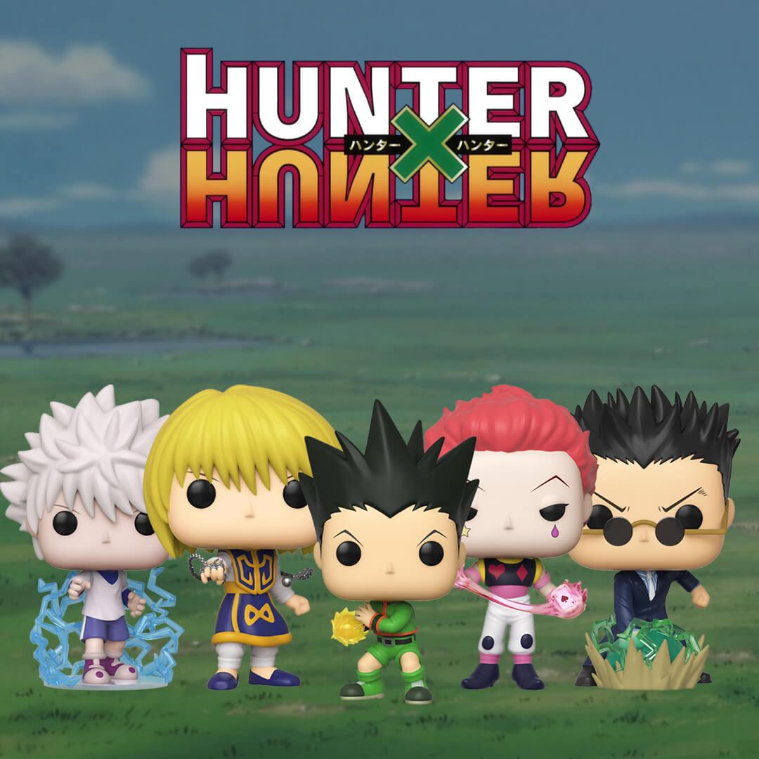 Sono arrivati i Pop! di Hunter x Hunter!
