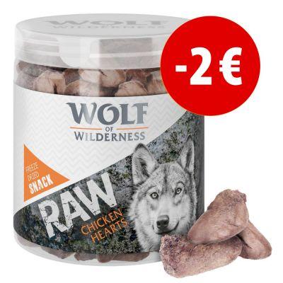 Prezzo speciale! Snack premium liofilizzati Wolf of Wilderness - RAW