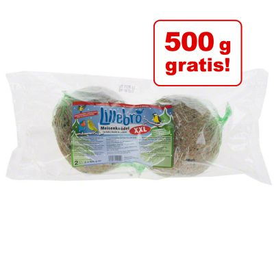 9 + 1 gratis! 10 x 500 g Lillebro XXL Pastone per uccelli selvatici