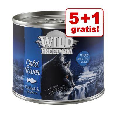 5 + 1 gratis! Wild Freedom 6 x 200 / 400 g