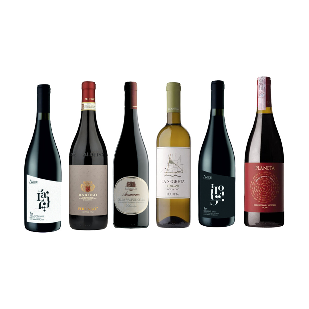 Carattere Italiano vino box