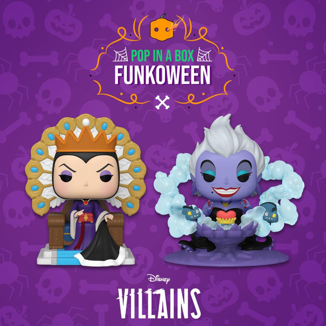 Nuovi Pop! Deluxe Disney Villains
