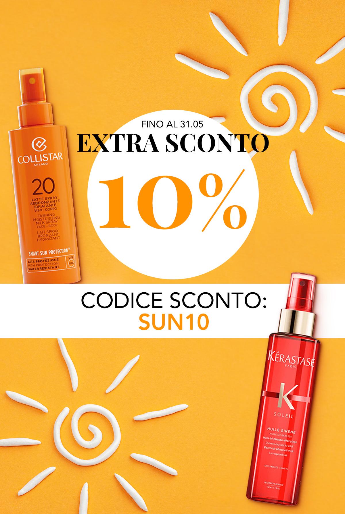 PROMO Extra 10% Solari Corpo, Viso, Capelli