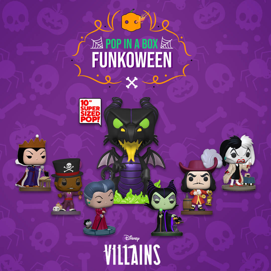 Nuovi Pop! Disney Villains!