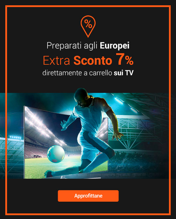 Extra Scont 7% sui TV
