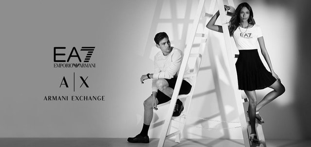 EA7 Emporio Armani + Armani Exchange - Donna & uomo