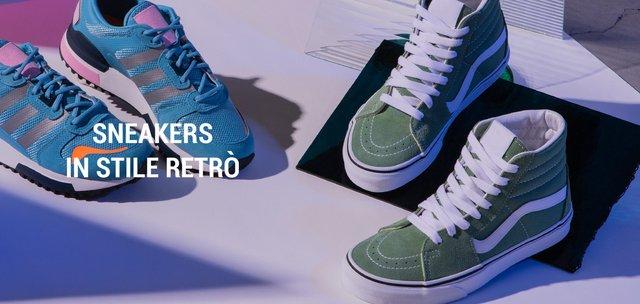 Sneakers in stile retrò