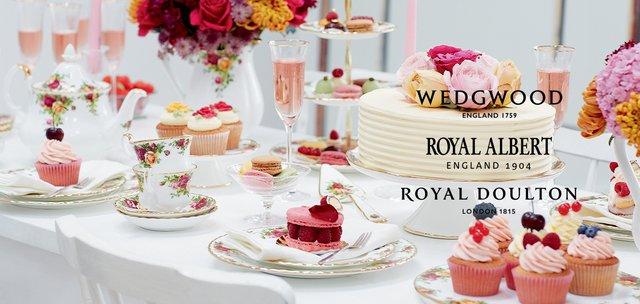 ROYAL DOULTON, Wedgewood, Royal Albert