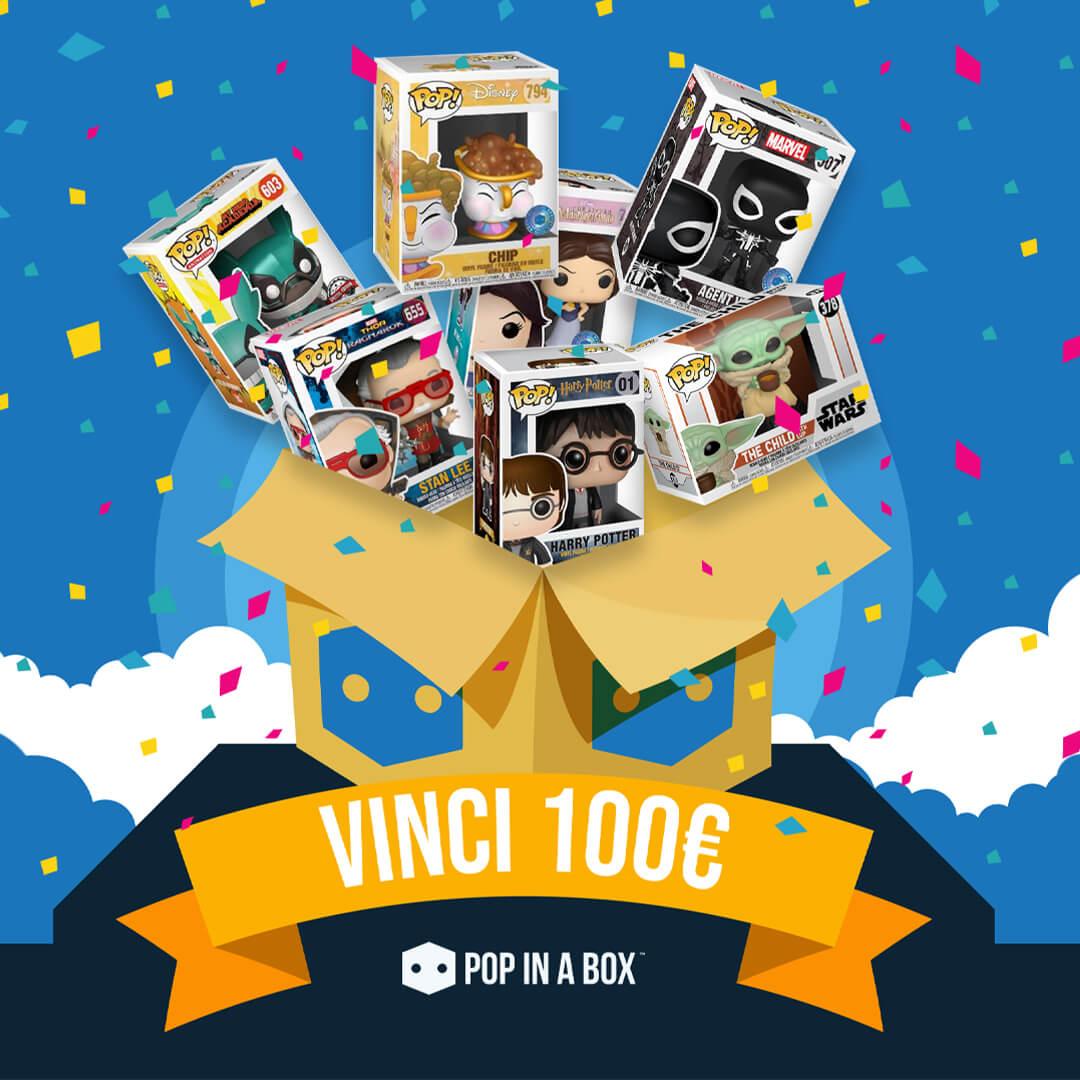 ⭐ Recensisci il tuo Pop! acquistato su Pop in a box!  ⭐