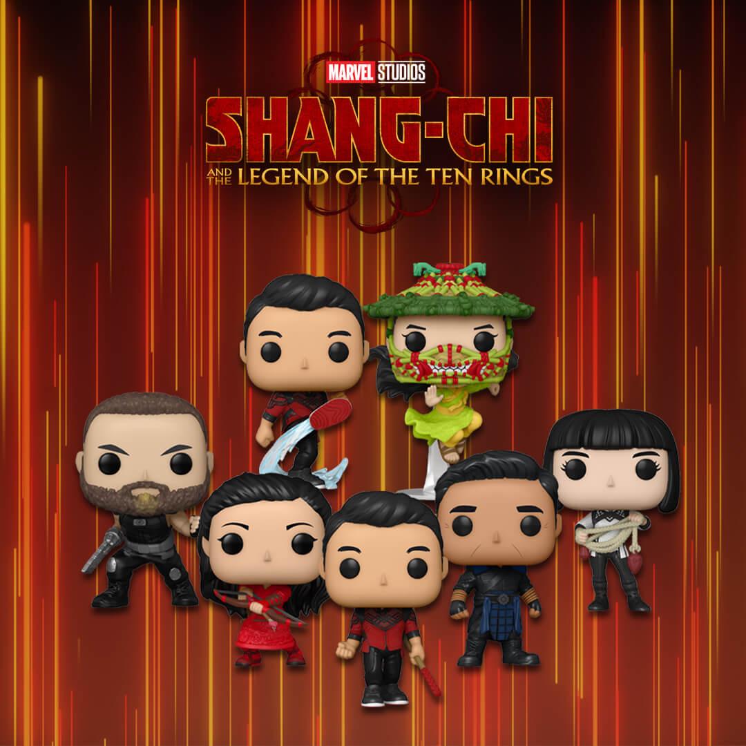 Marvel Shang Chi Pops!
