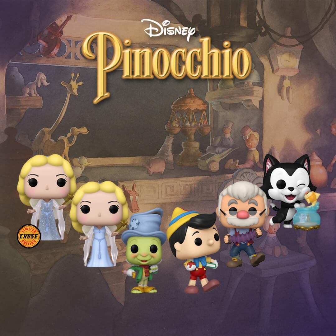 🥳 Nuovissimi Pop! di Pinocchio! 🥳