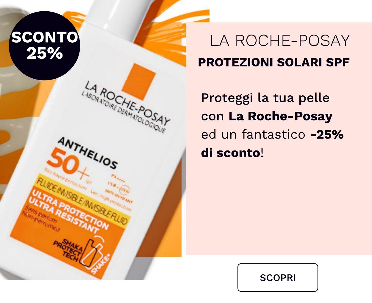 Sconto 25% su La Roche Posay