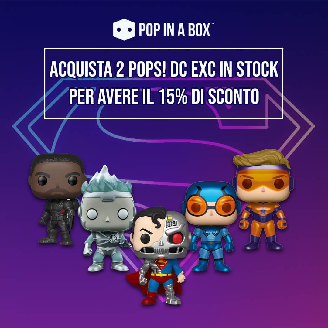 🚨🦸♂️ Acquista 2 Pops! EXC DC per avere il 15% di sconto! 🚨🦸♂️