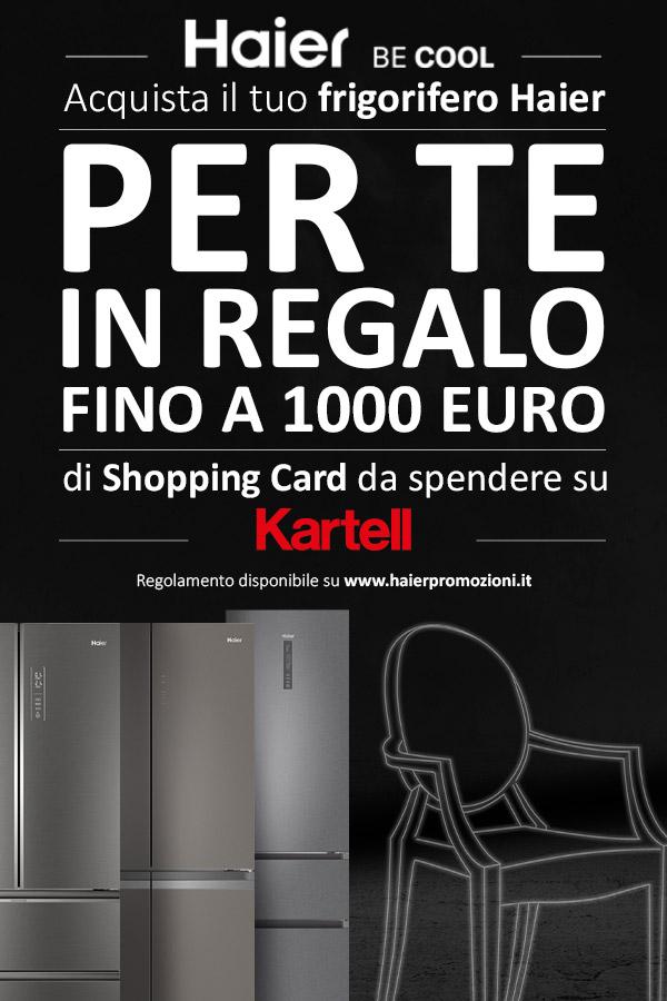 Shopping Card fino a €1.000 con i frigoriferi Haier