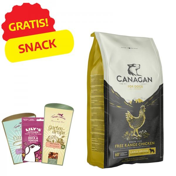 Canagan Free Range Chicken Large Breeds per Cani