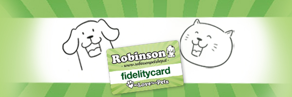 Punti Fidelity | Robinson Pet Shop