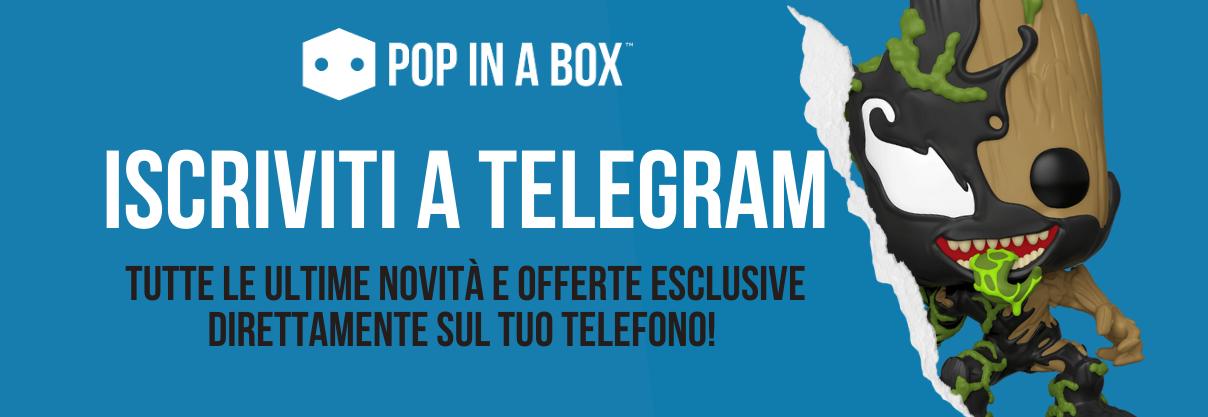 Iscriviti al canale Telegram di Pop In A Box
