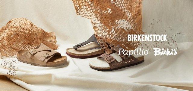 Birkenstock + Birkis + Papillio