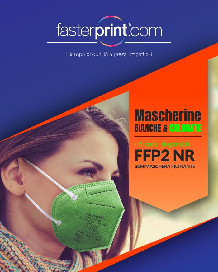 Offerta Mascherine FFP2 e FFP2 colorate