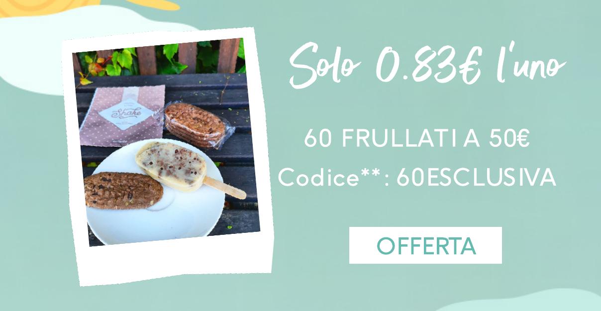 60 frullati a 50 euro