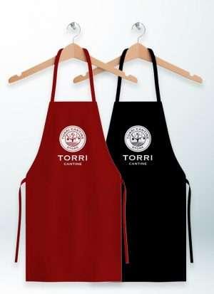 Grembiule da cucina personalizzato Torri Cantine Store