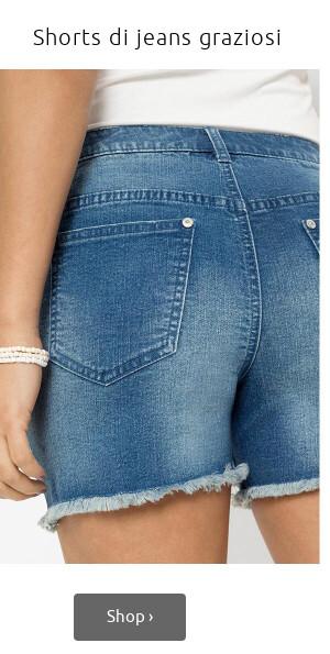 Shorts di jeans >