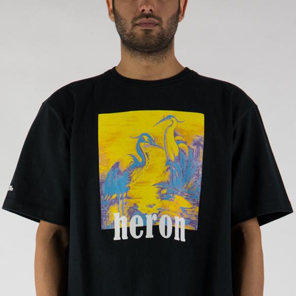 T-shirt oversized heron preston