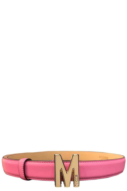 Cintura con lettera piccola - MOSCHINO