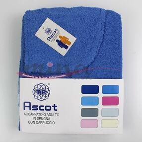 Accappatoio Unisex in spugna con cappuccio Adulto TR Ascot Vari colori