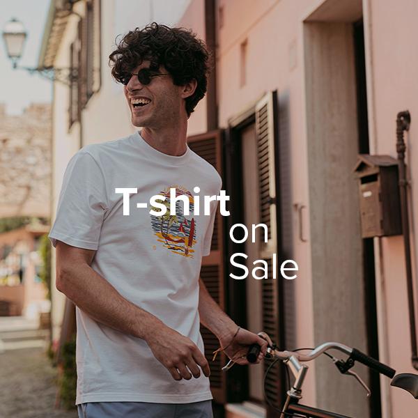 T-shirt in saldo fino al -50%