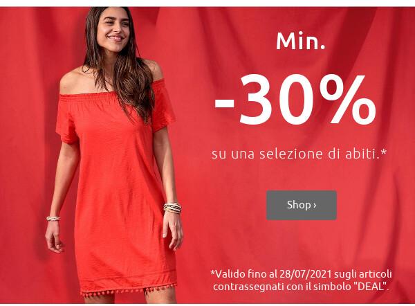 Summer deals: Abiti % >