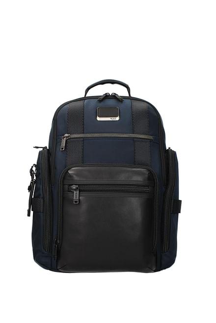 Tumi Backpack and bumbags alpha bravo Men Nylon Blue Blue Navy