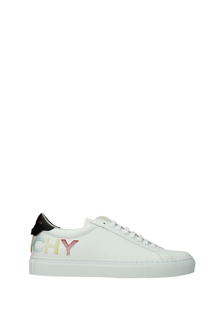 Givenchy Sneakers Men Leather White Black