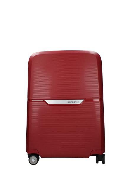 Samsonite Wheeled Luggages magnum 38l Men Polypropylene Red Rust