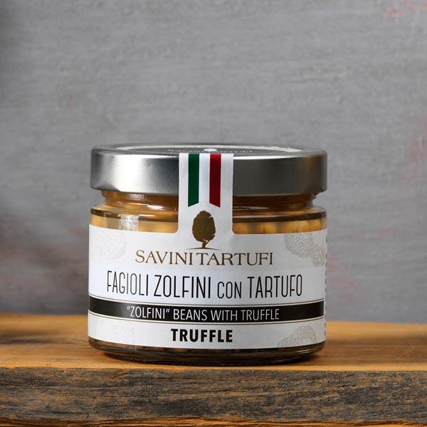 Fagioli zolfini con tartufo