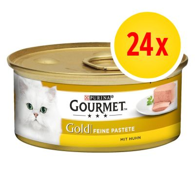 Fai scorta! Gourmet Gold Mousse 24 x 85 g