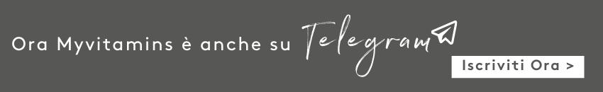 Iscriviti al nostro Canale Telegram | Myvitamins Italia