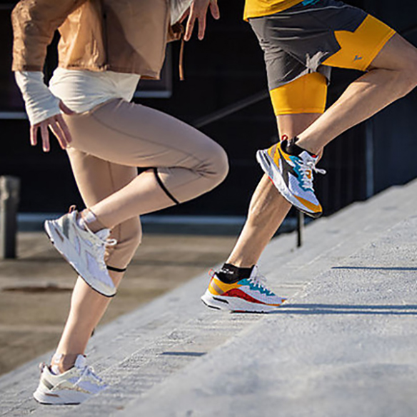 Scarpe e abbigliamento per la corsa Diadora