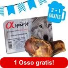 2 + 1 gratis! 3 x Alpha Spirit osso di prosciutto
