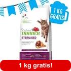 9 kg + 1 kg gratis! 10 kg Trainer Natural Sterilised con Prosciutto crudo