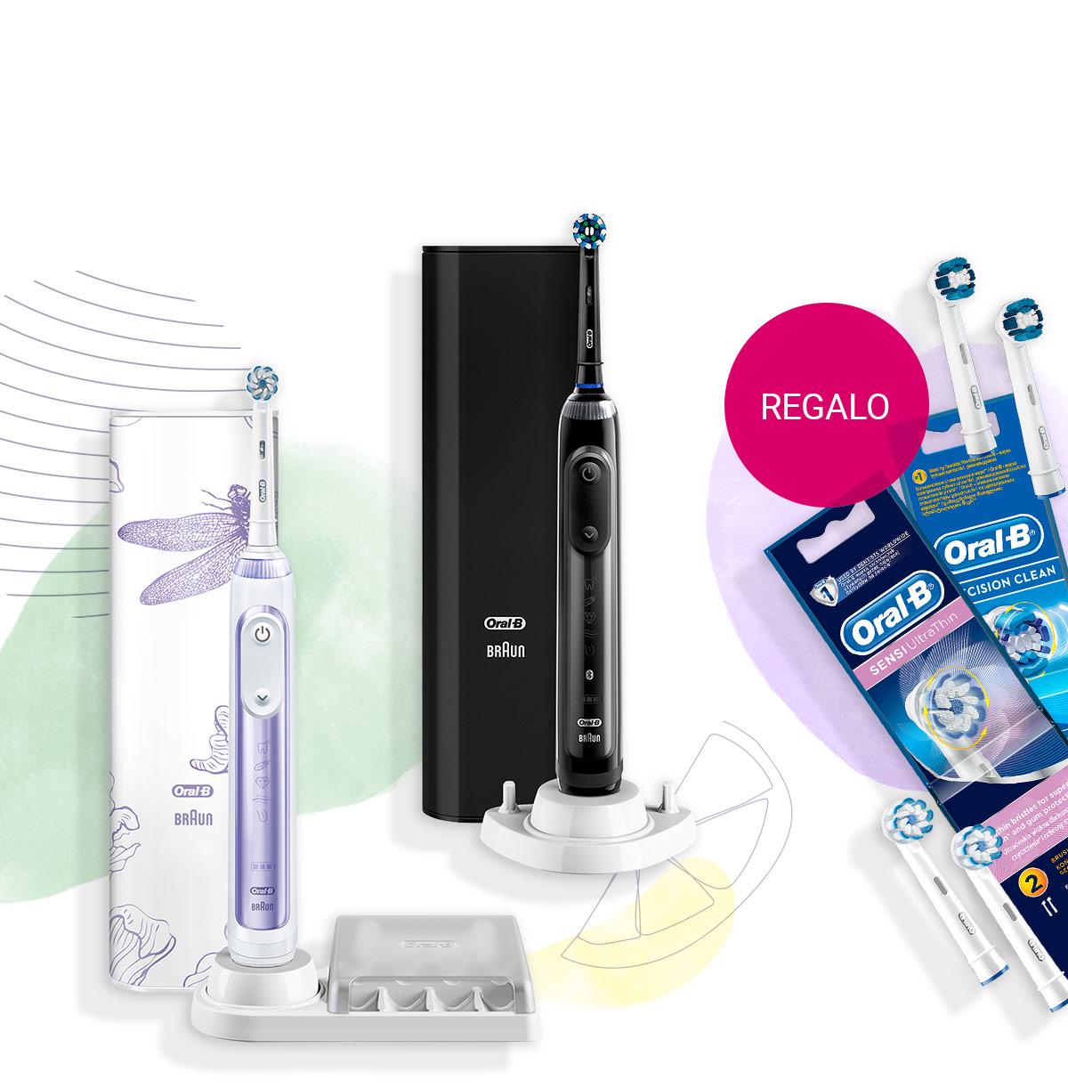 Acquista spazzolini oscillanti Oral-B selezionati e ricevi in regalo 2 testine extra in regalo