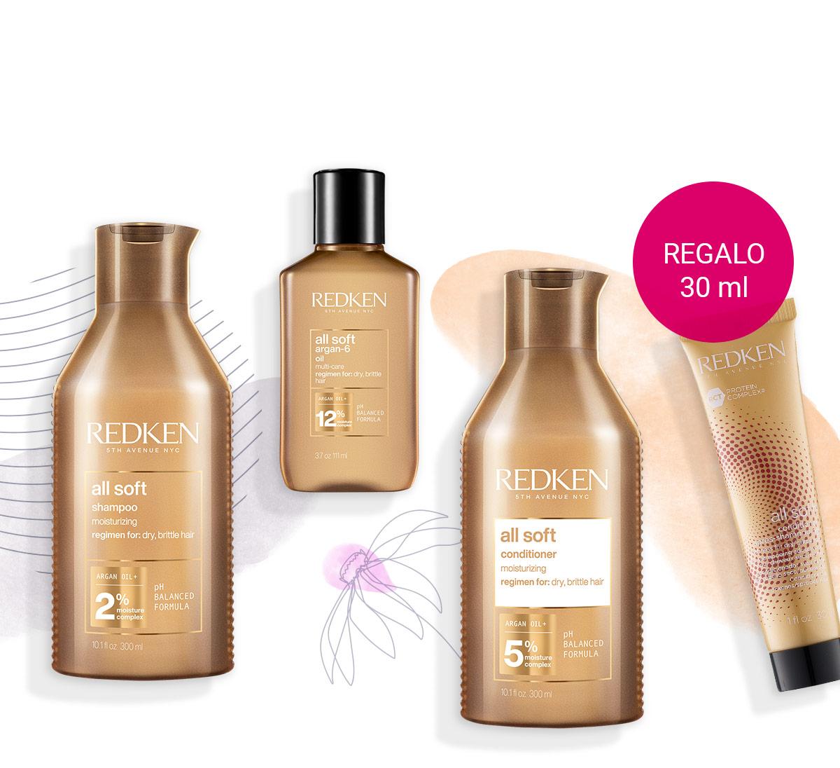 Acquista prodotti Redken oltre 40 € e ricevi un balsamo per capelli.