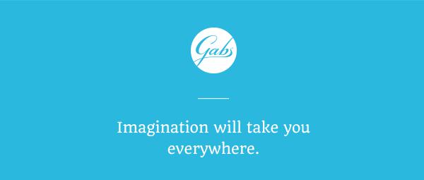 Gabs - Imagination will take you everywhere