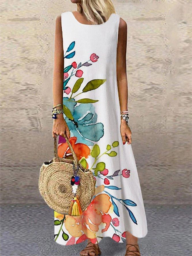 Floral-Print Resort Dress...