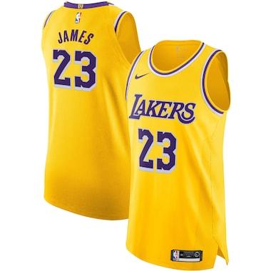 Los Angeles Lakers Nike Association Authentic Maglia - LeBron James- Uomo