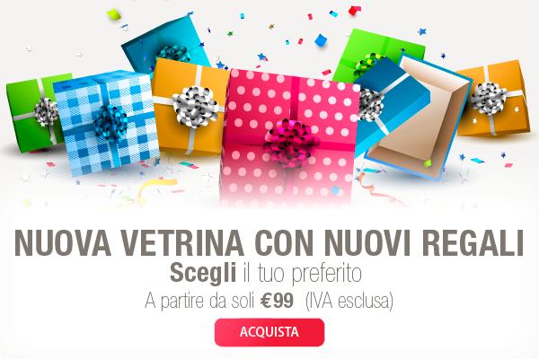 Nuova Vetrina per i tuoi regali!